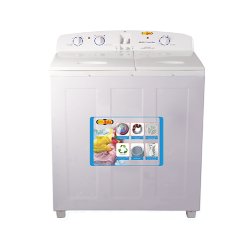 Super Asia Crystal Wash Series Washing Machine SA-250